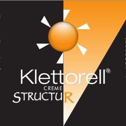 Klettorell Creme Structur